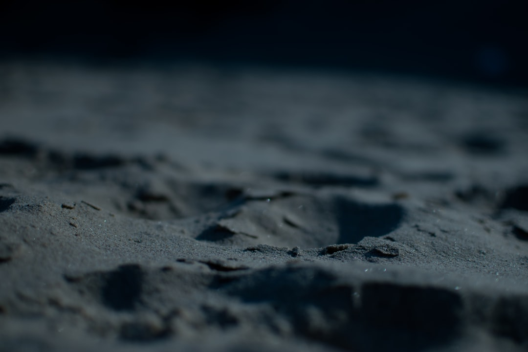 I think we easily forget how the surface of our planet must have looked like if viewed through strangers eyes. This I took on a beach where the sand itself just takes me to a peaceful place, almost like being on another planet.