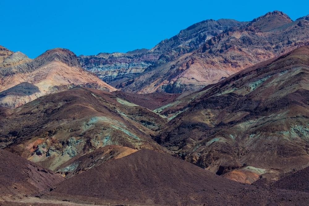 brown mountain ranges during daytime