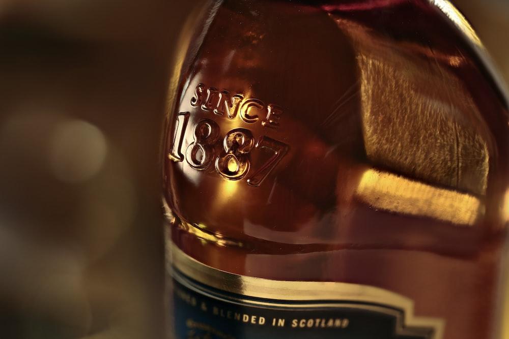liquor glass bottle