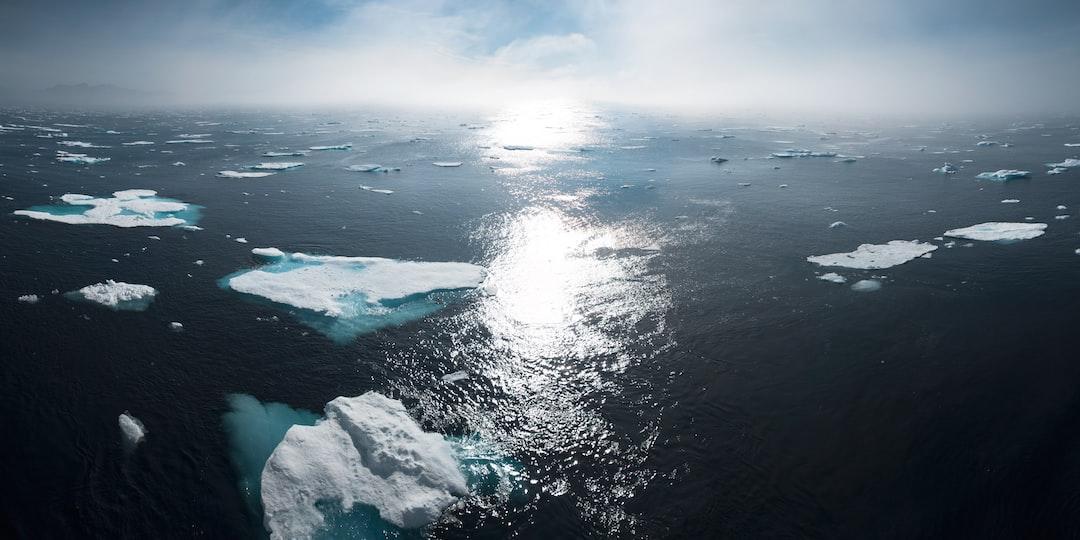 """Greenland ocean sunset"""