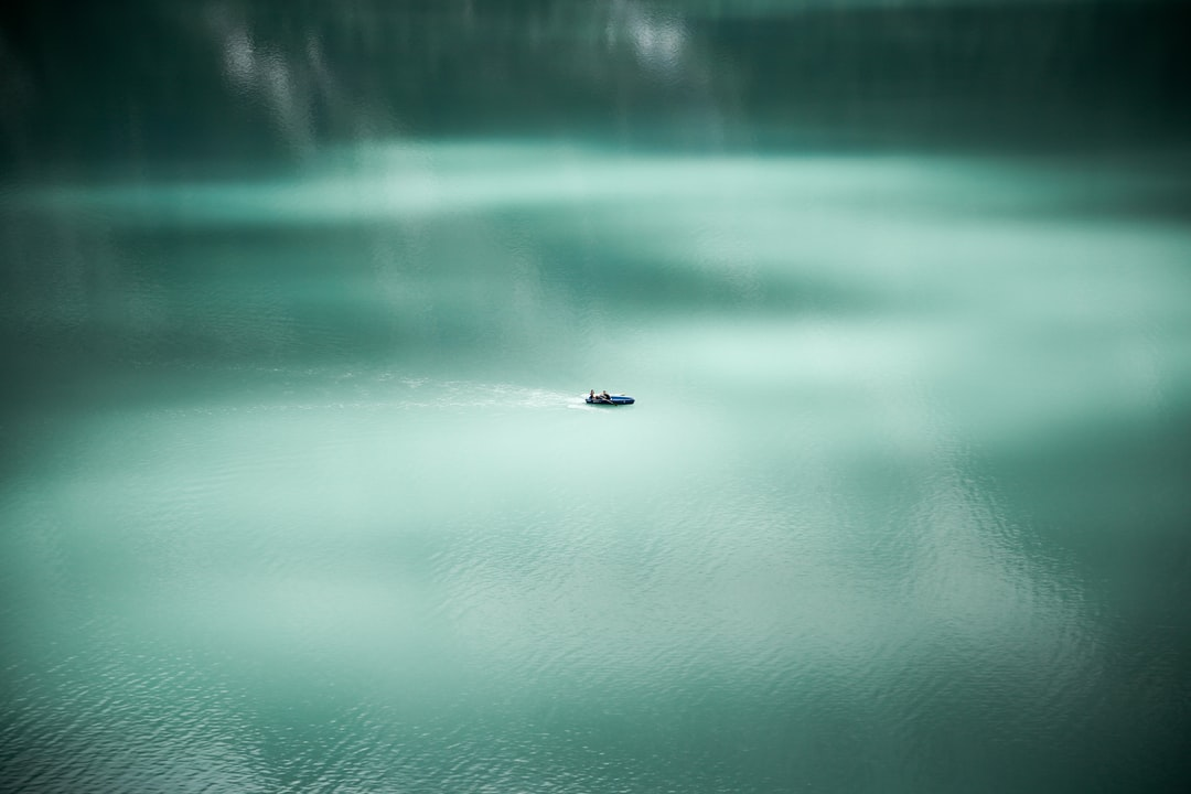 Oeschinen Lake calm water