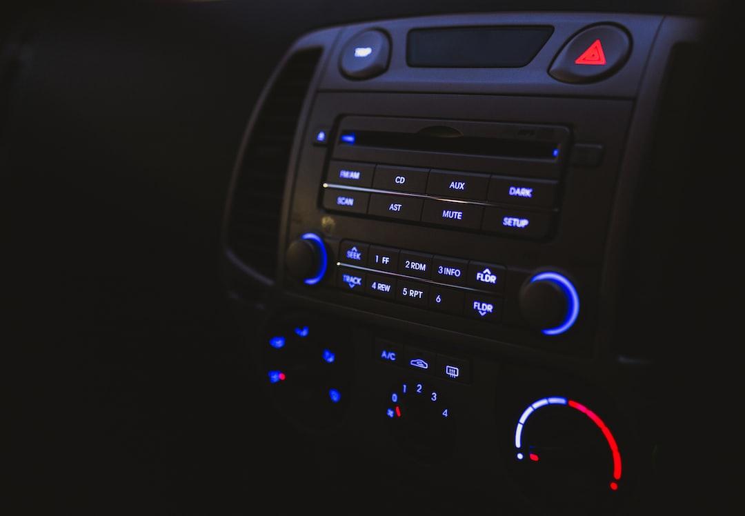 Listening to car radio
