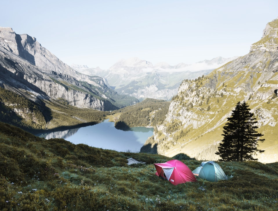 Camping with Solbio your natural toiletfluid