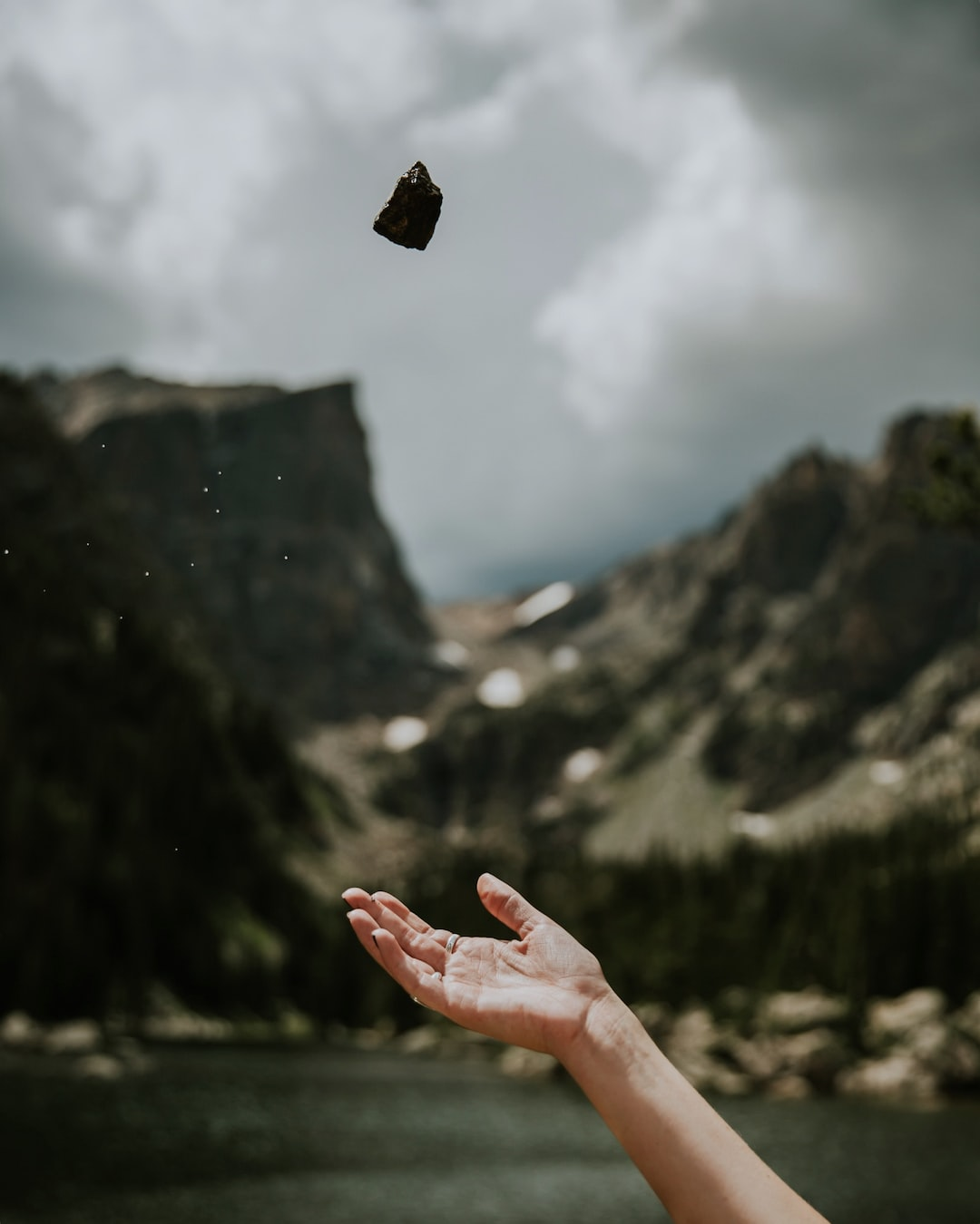 Hand Throwing Stone : Rock stone hand and throw hd photo by averie woodard