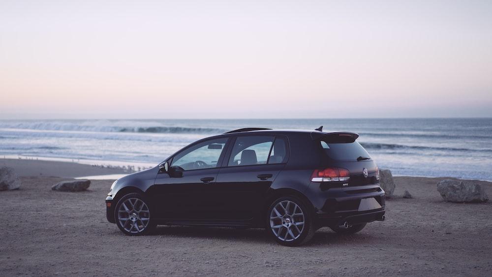 black 5-door hatchback