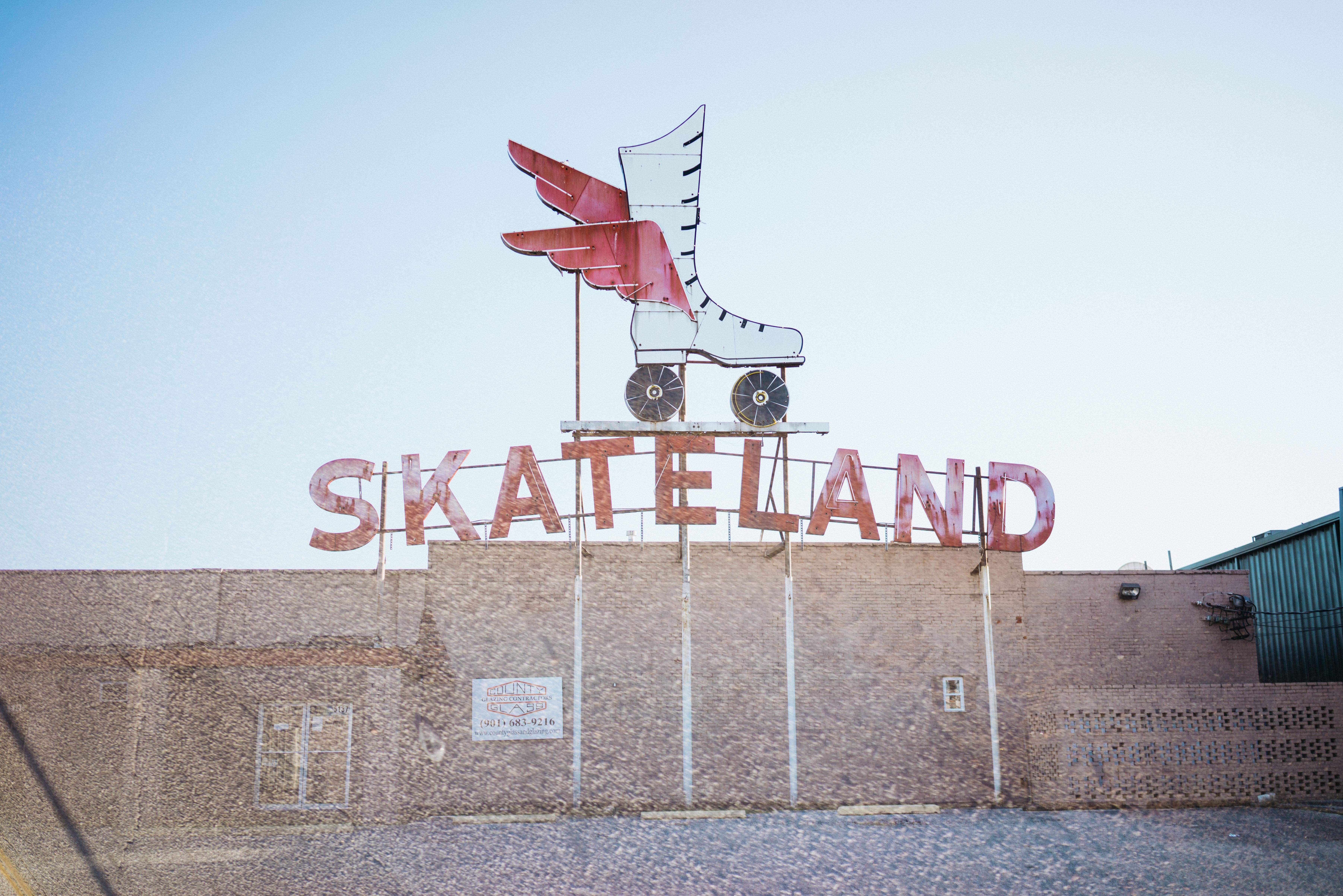 Skateland storefront