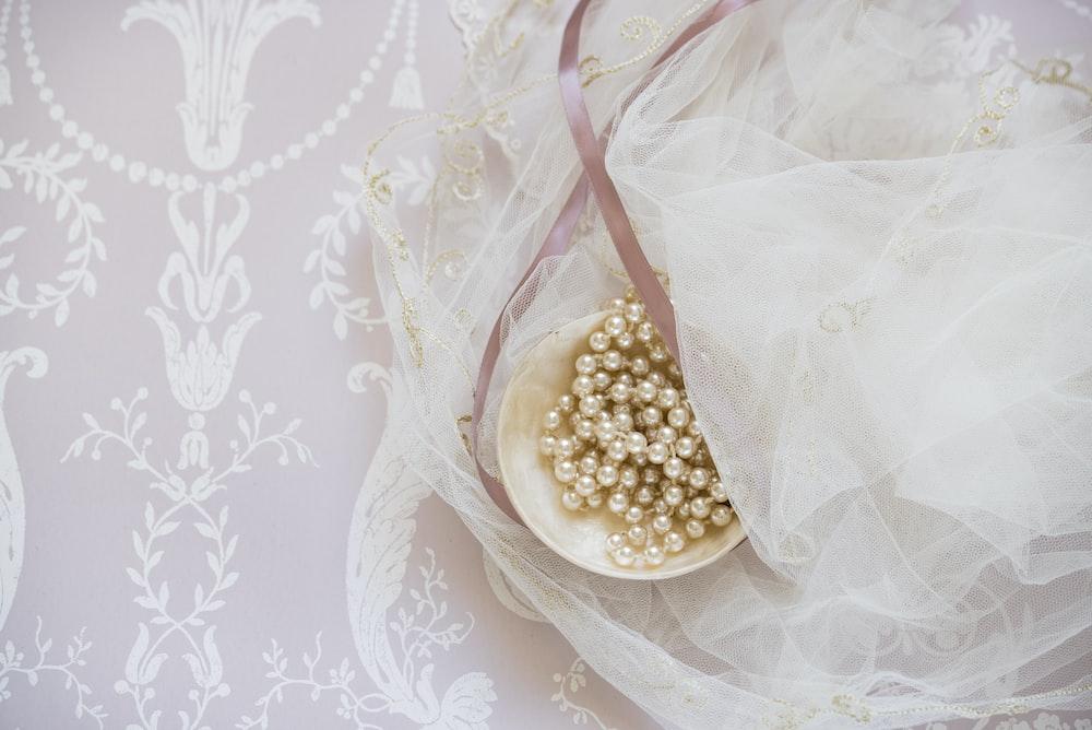 white beaded jewelry