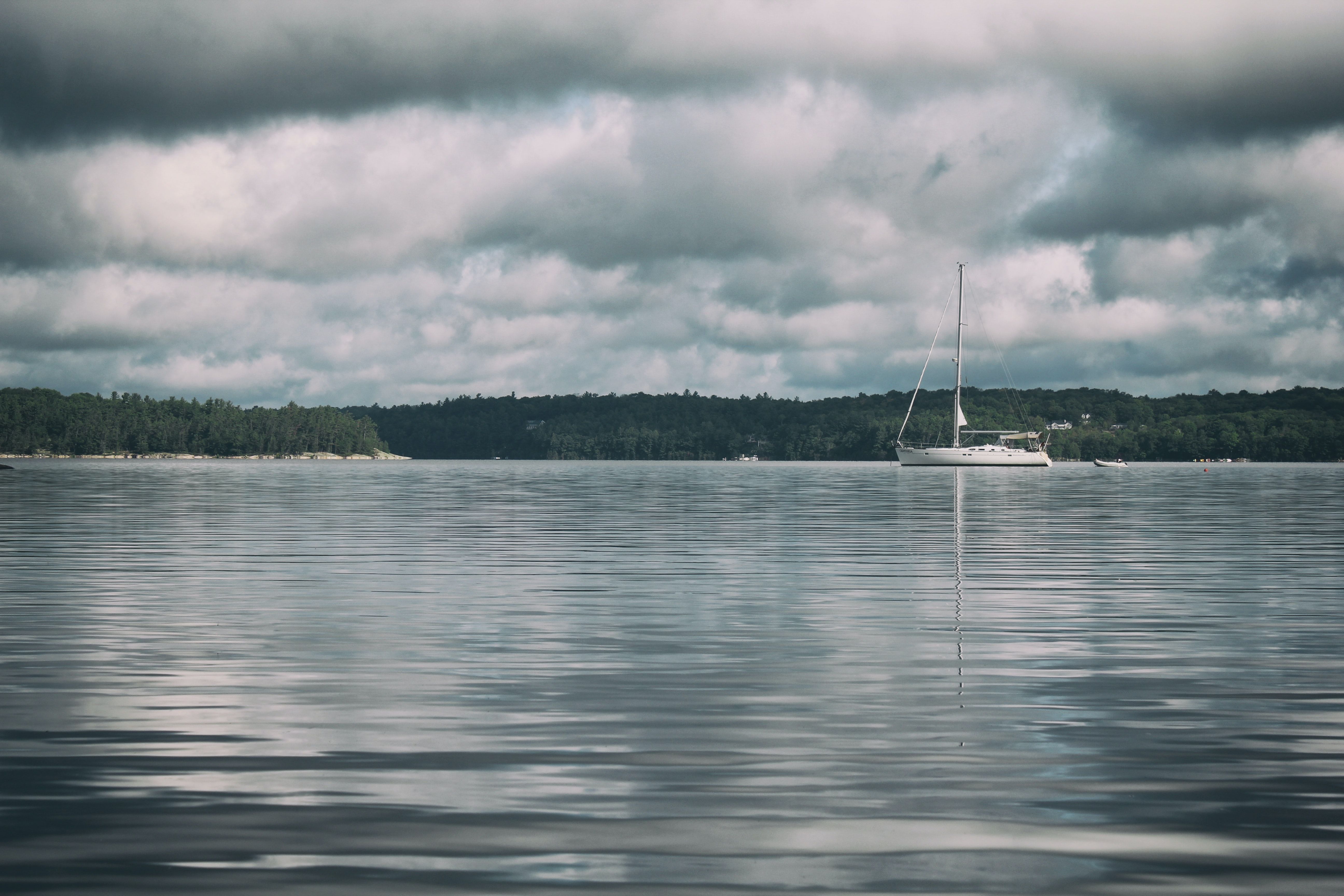 sail boat on body of water