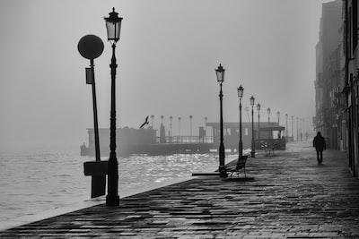Misty Monochromatic Walks