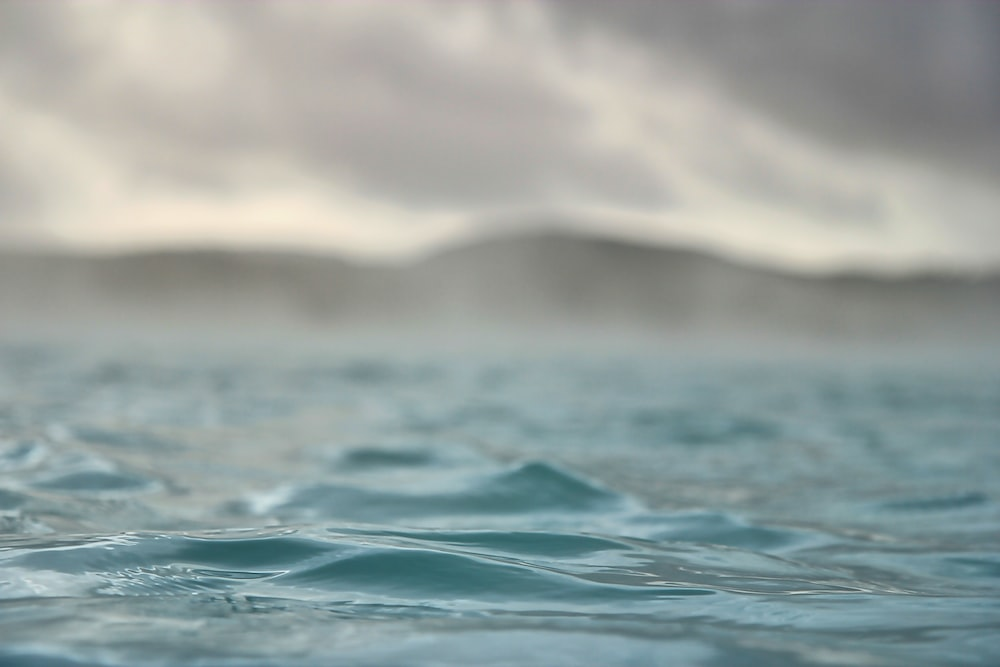 water wave in close up photography