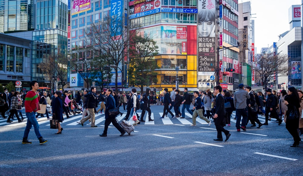 group of person on street