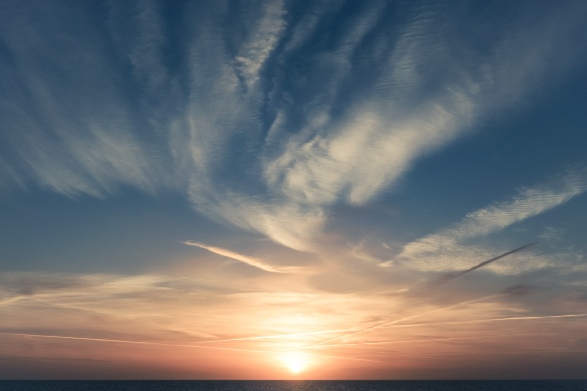 Shoreham-By-Sea sunset.