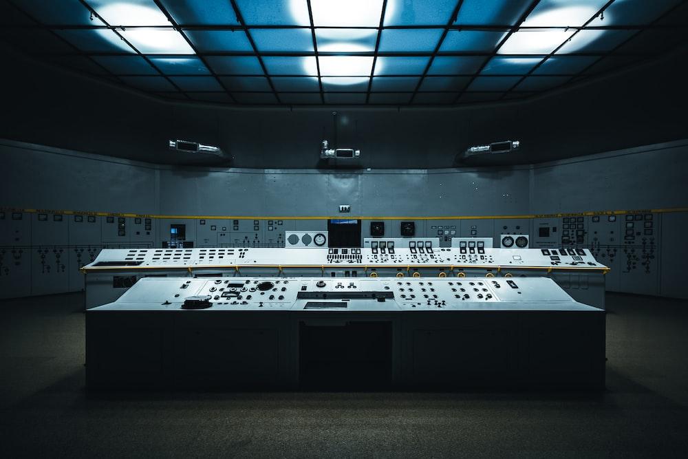 landscape photo of studio interior