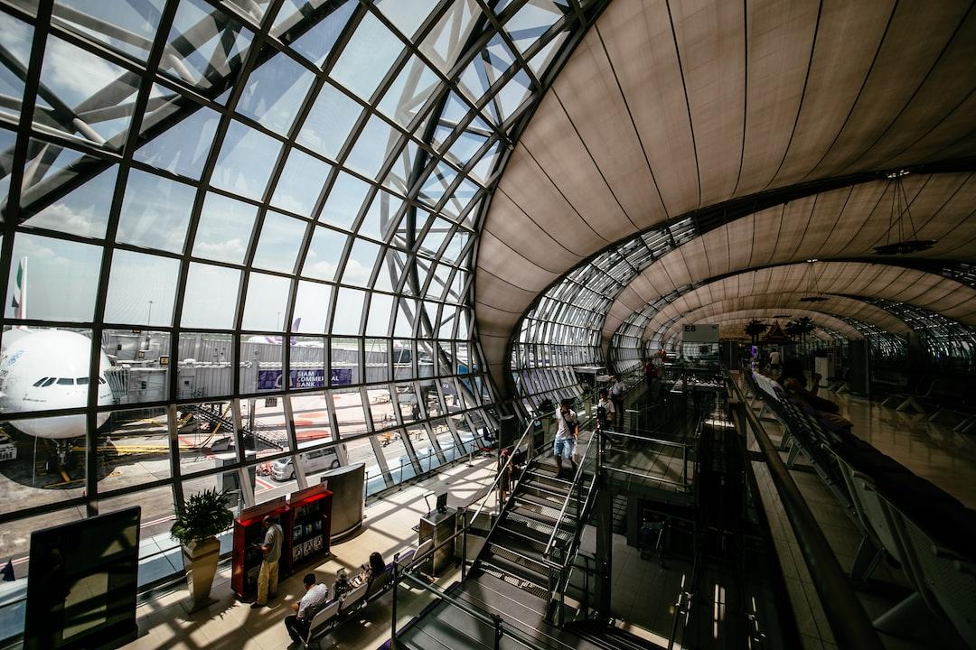 Os aeroportos mais confortáveis do mundo.