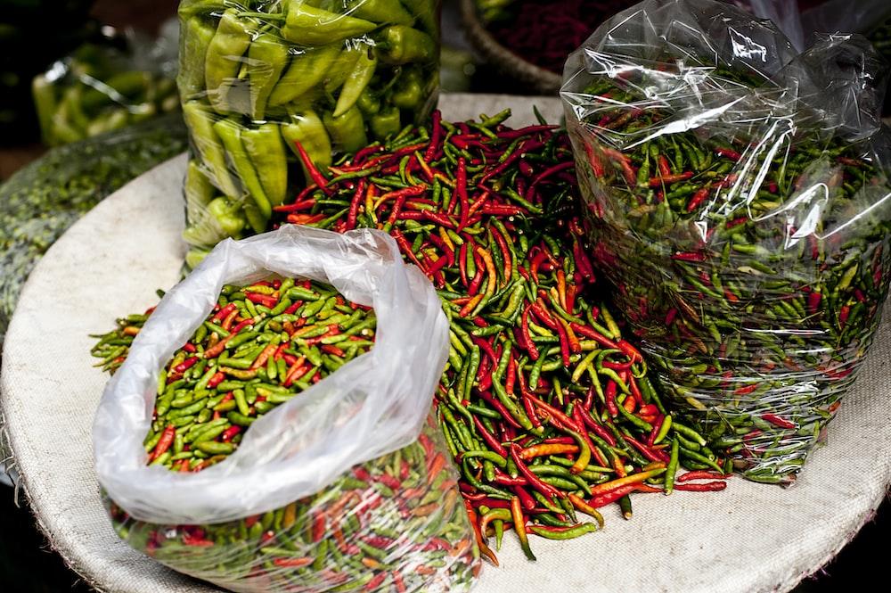 chili pepper packs