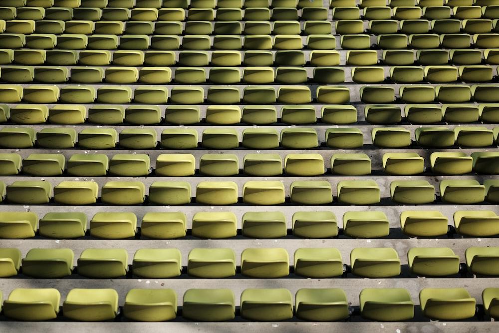 green gang chairs