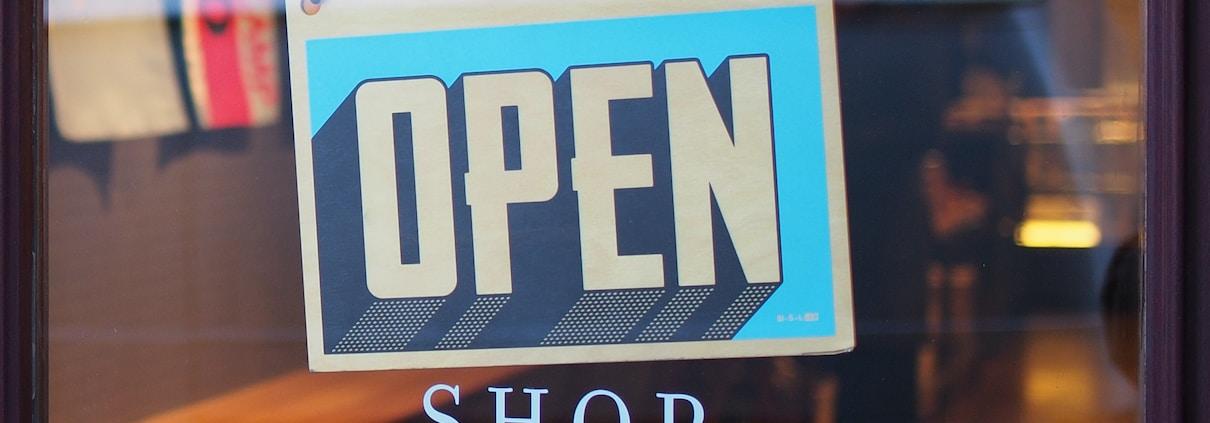 google my business open shop