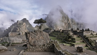 landscape photography of mountain machu picchu zoom background