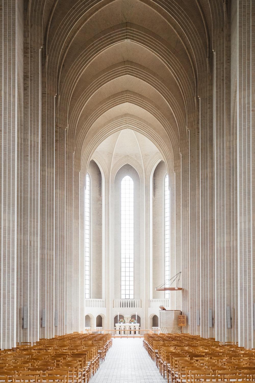 empty cathedral interior