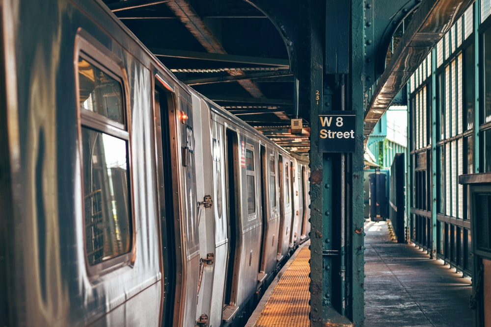 W8 Street train station