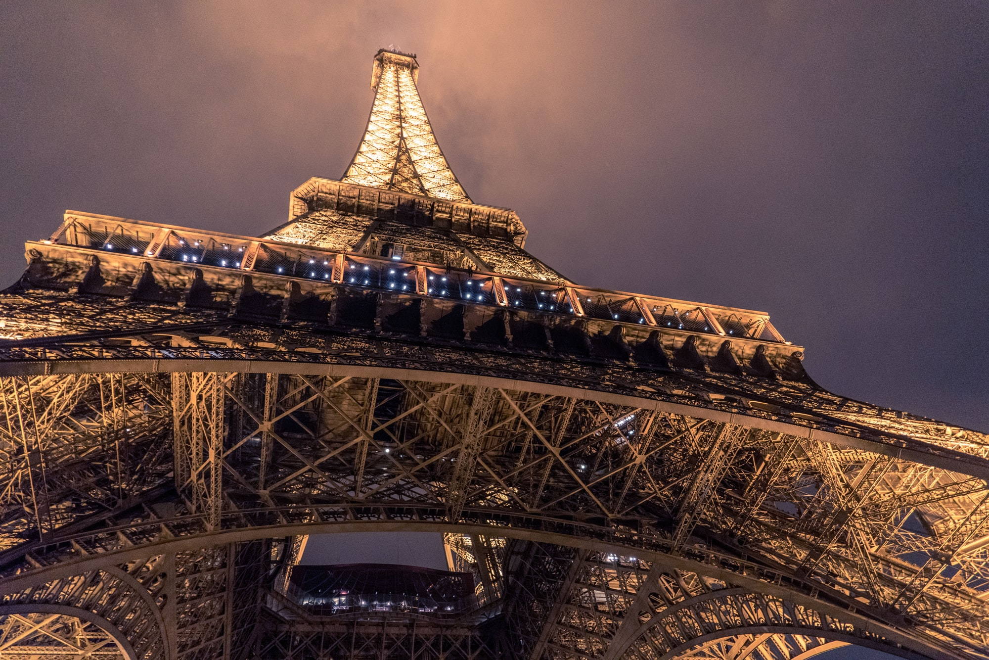 Street view of Eiffel Tower