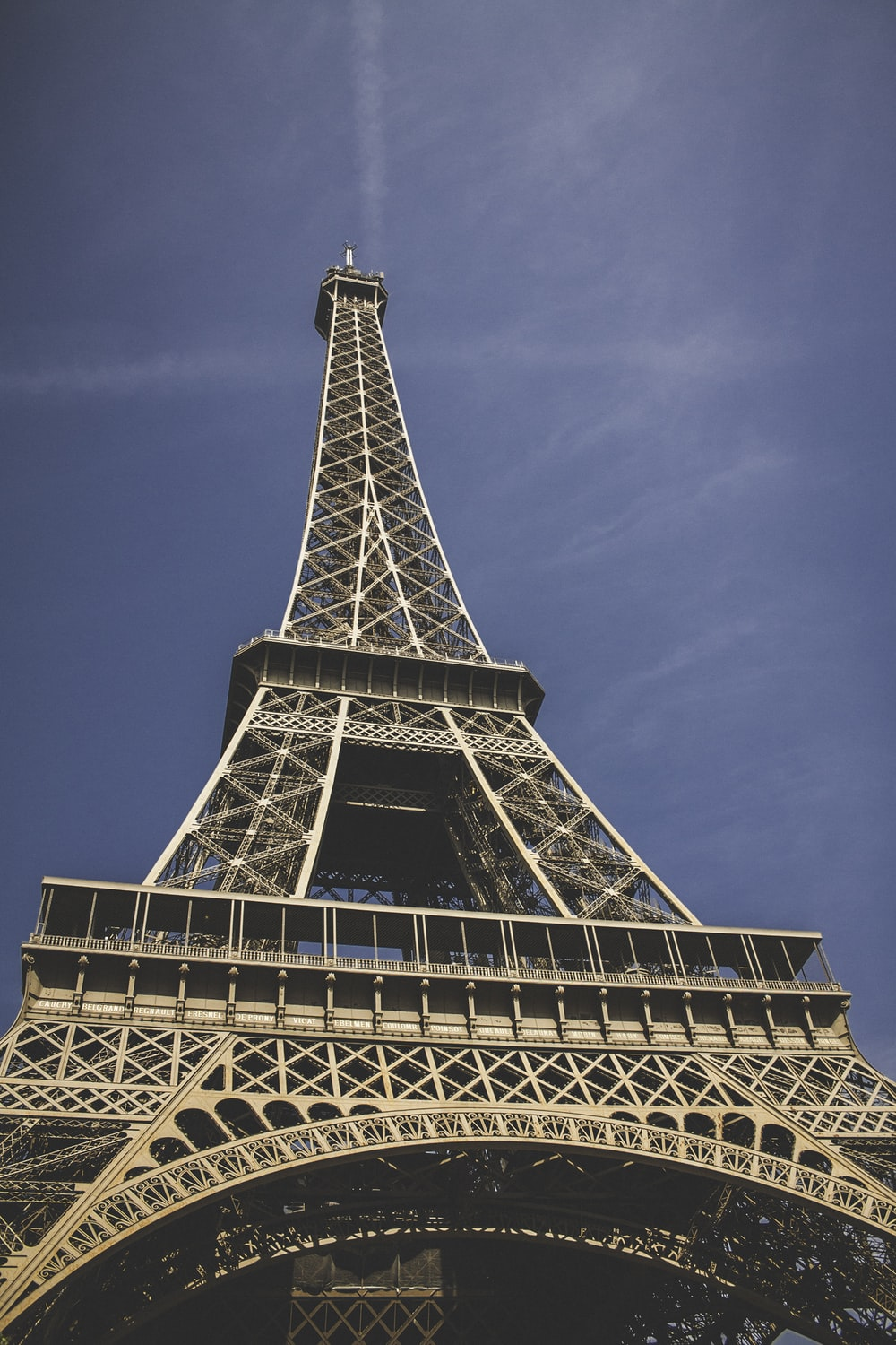 low-angle view of Eiffel Tower, Paris