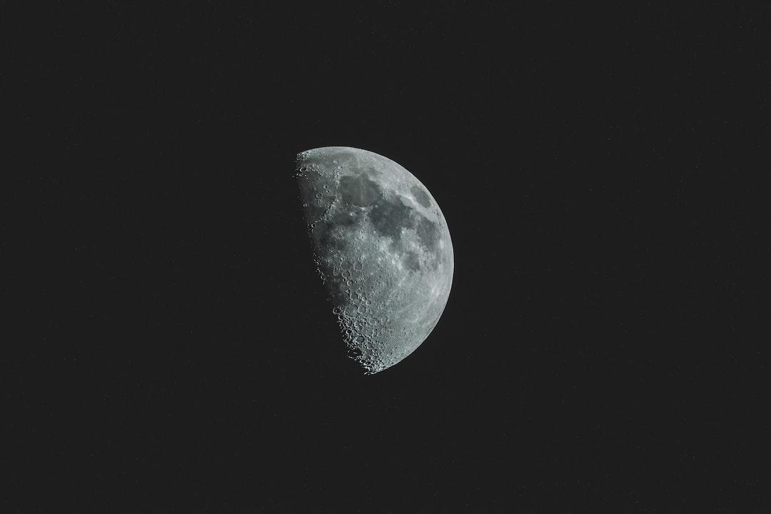 Half moon at Nelson
