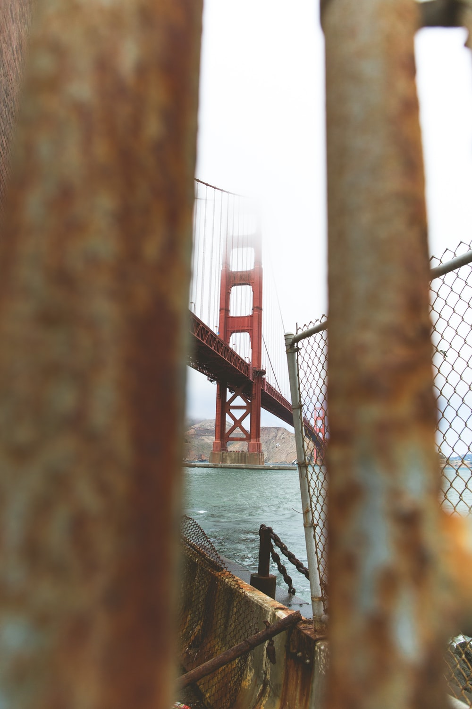 Golden Gate Bridge, San Francisco under cloudy sky during daytime