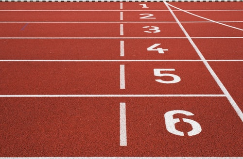a running track