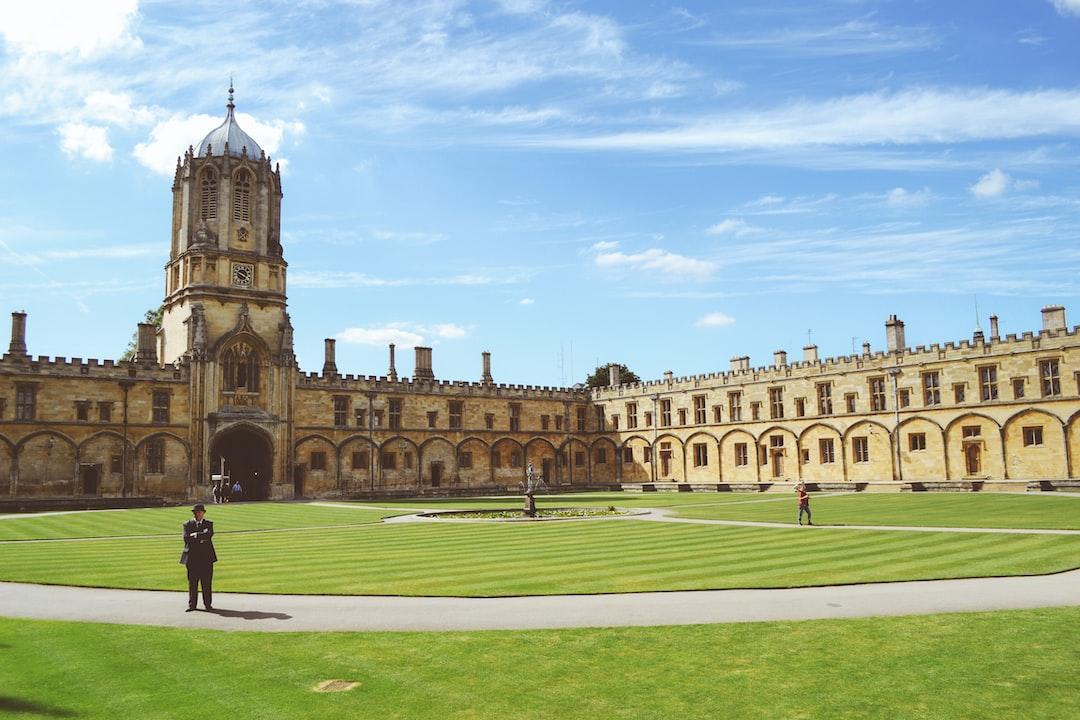 Oxford college campus