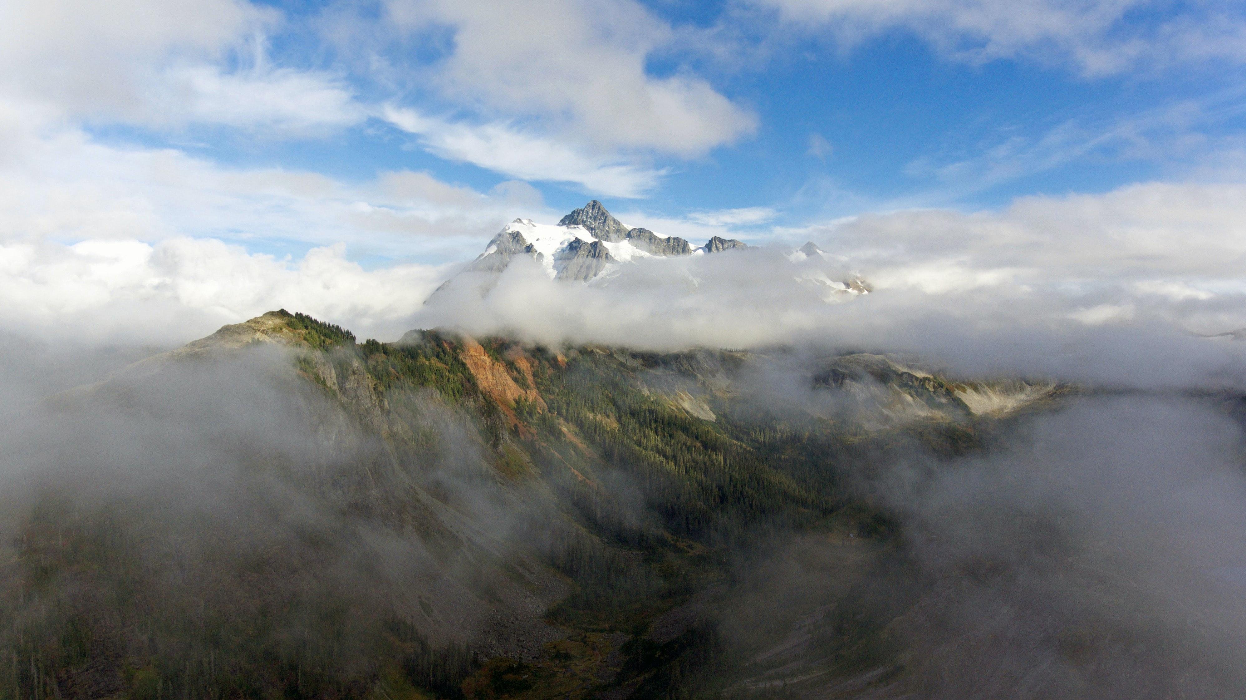 Smoky mountain top
