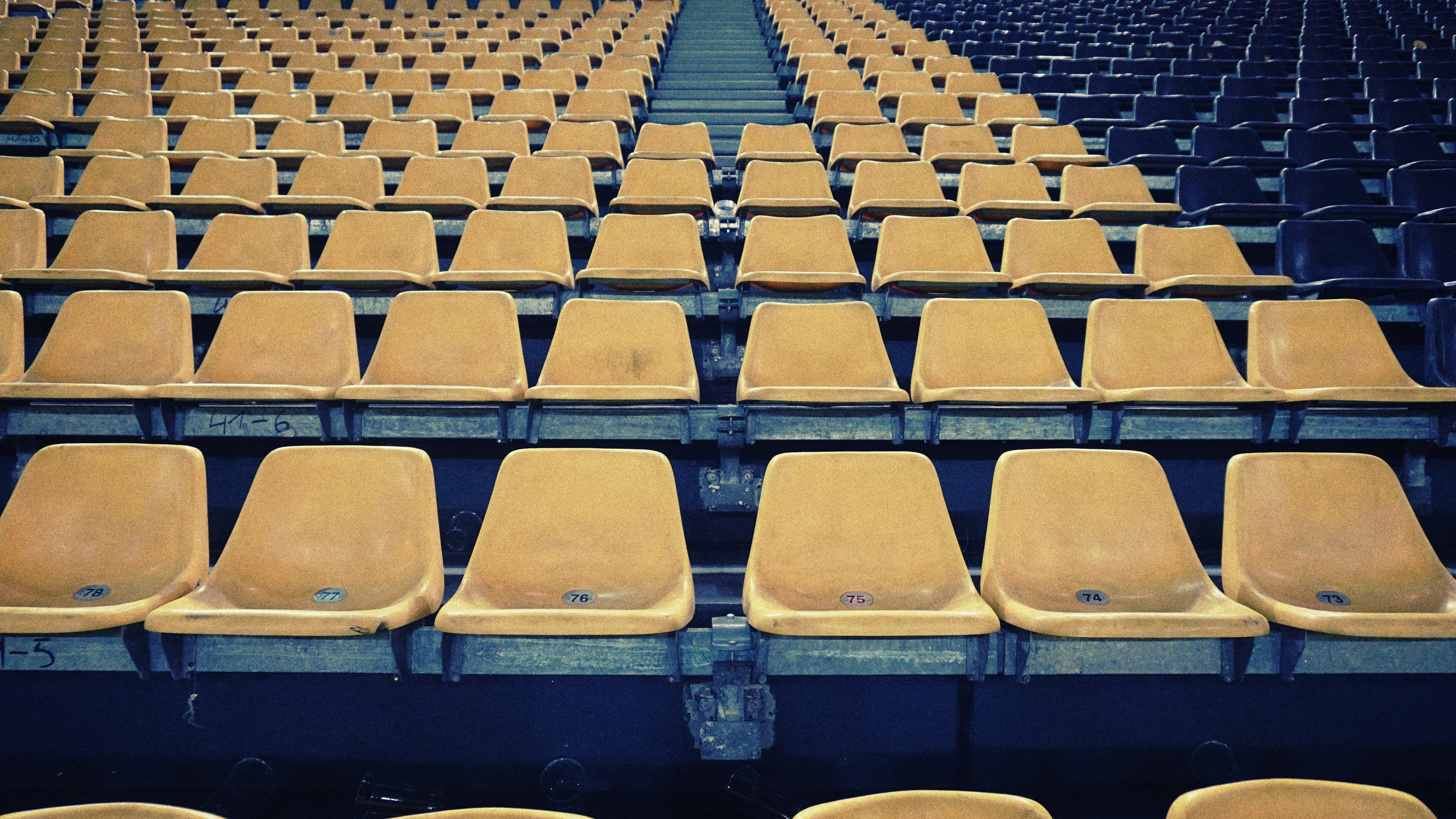 empty stage seats