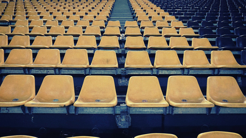 empty stage seats