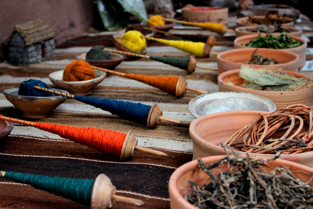 photo of threads and spice lot