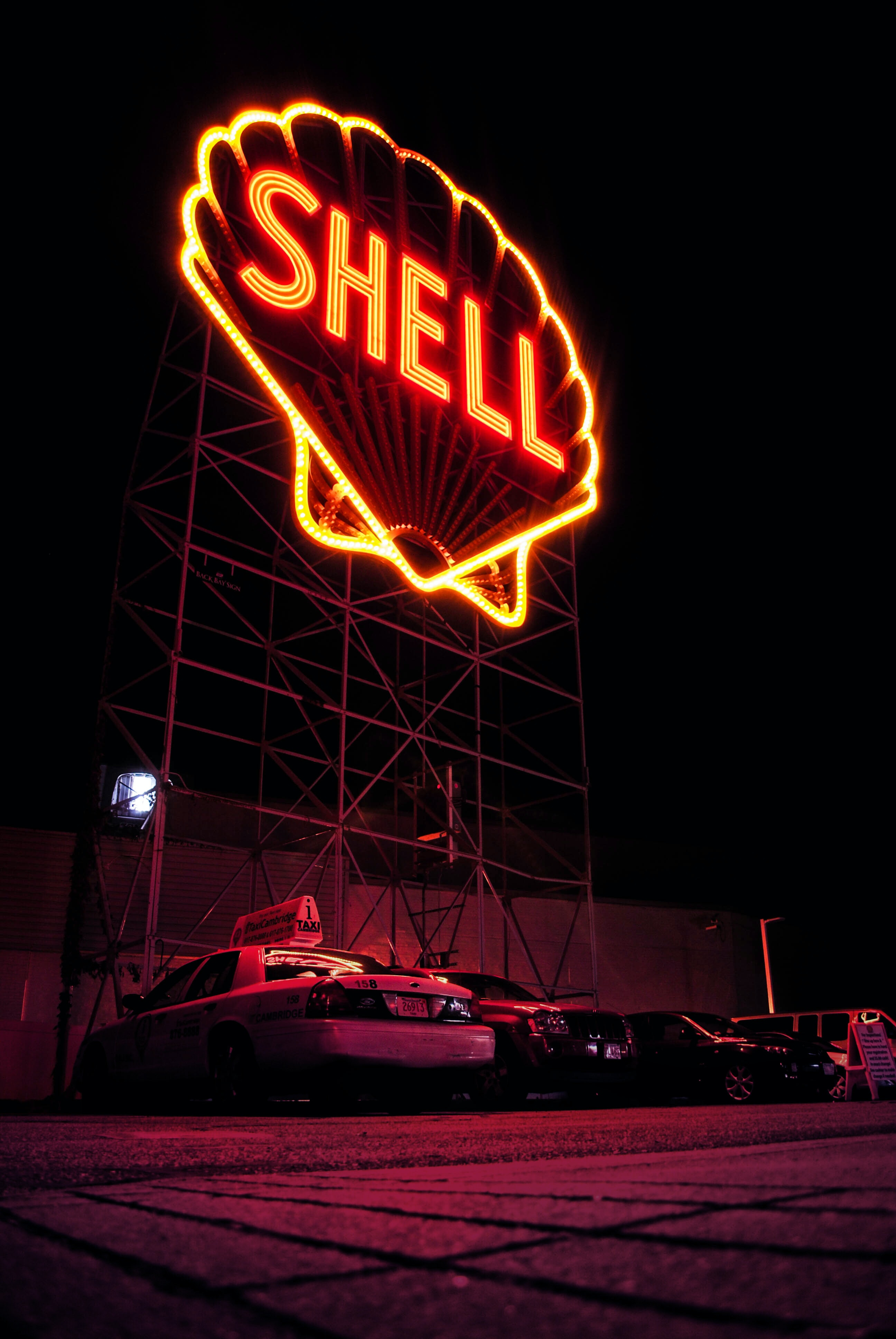Shell LED signage