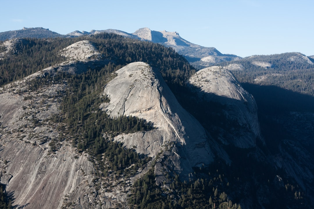 Yosemite Valley seen from  Glacier Point