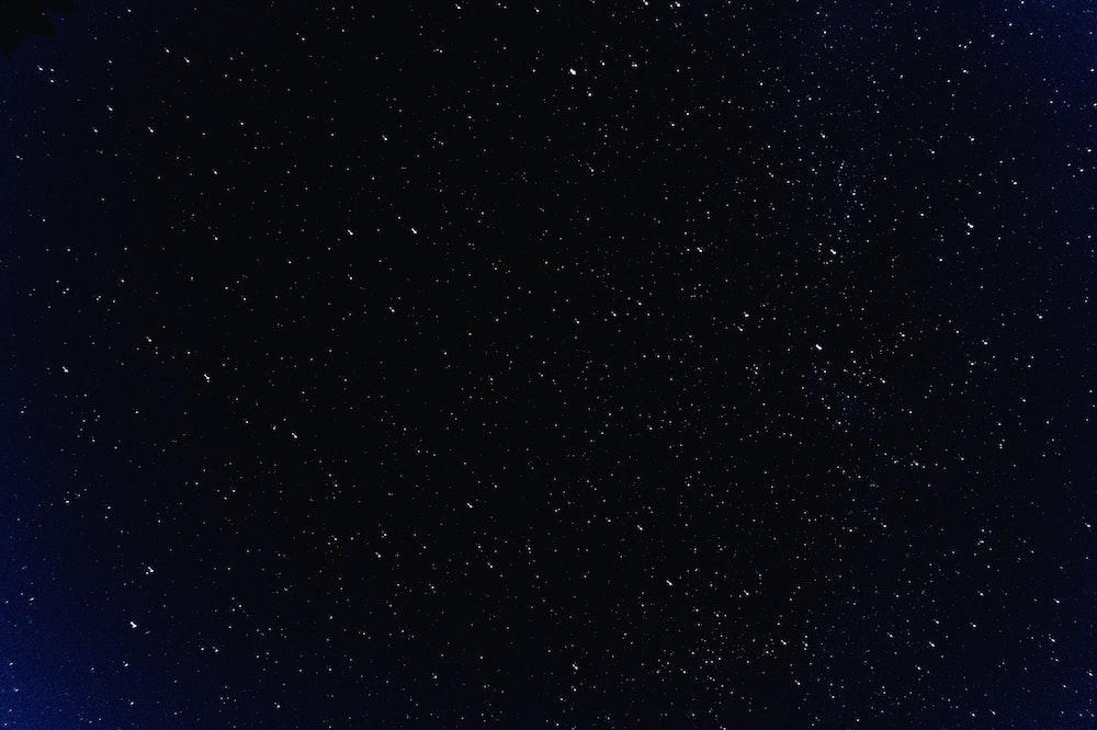 cluster of stars in the sky