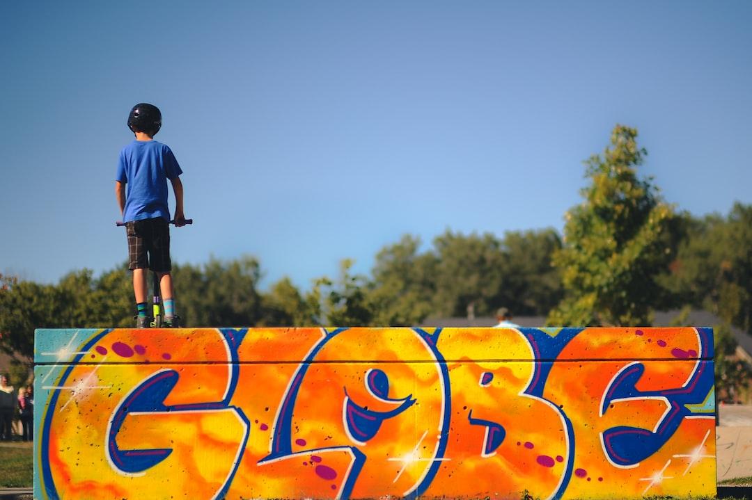 Kid At The Skate Park