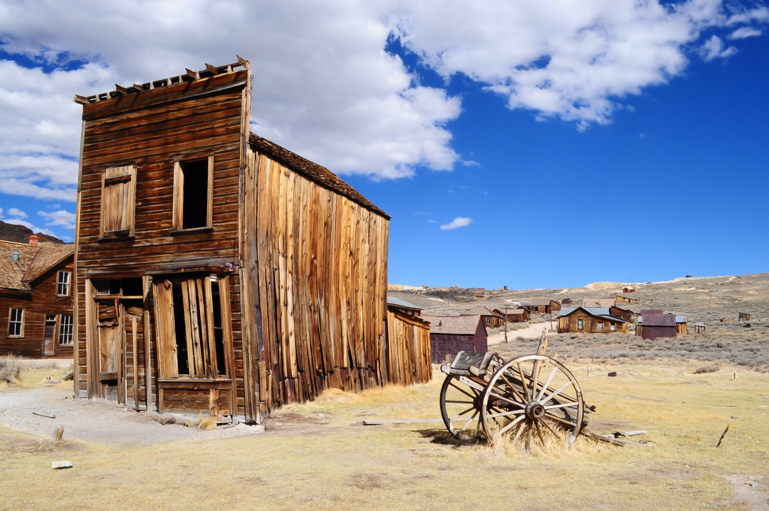 Abandoned Desert Home