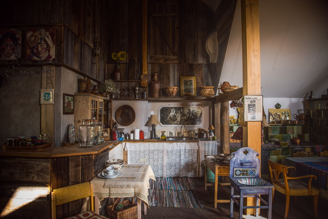 Kitchen interior quaint room and table hd photo by for Quaint kitchen designs