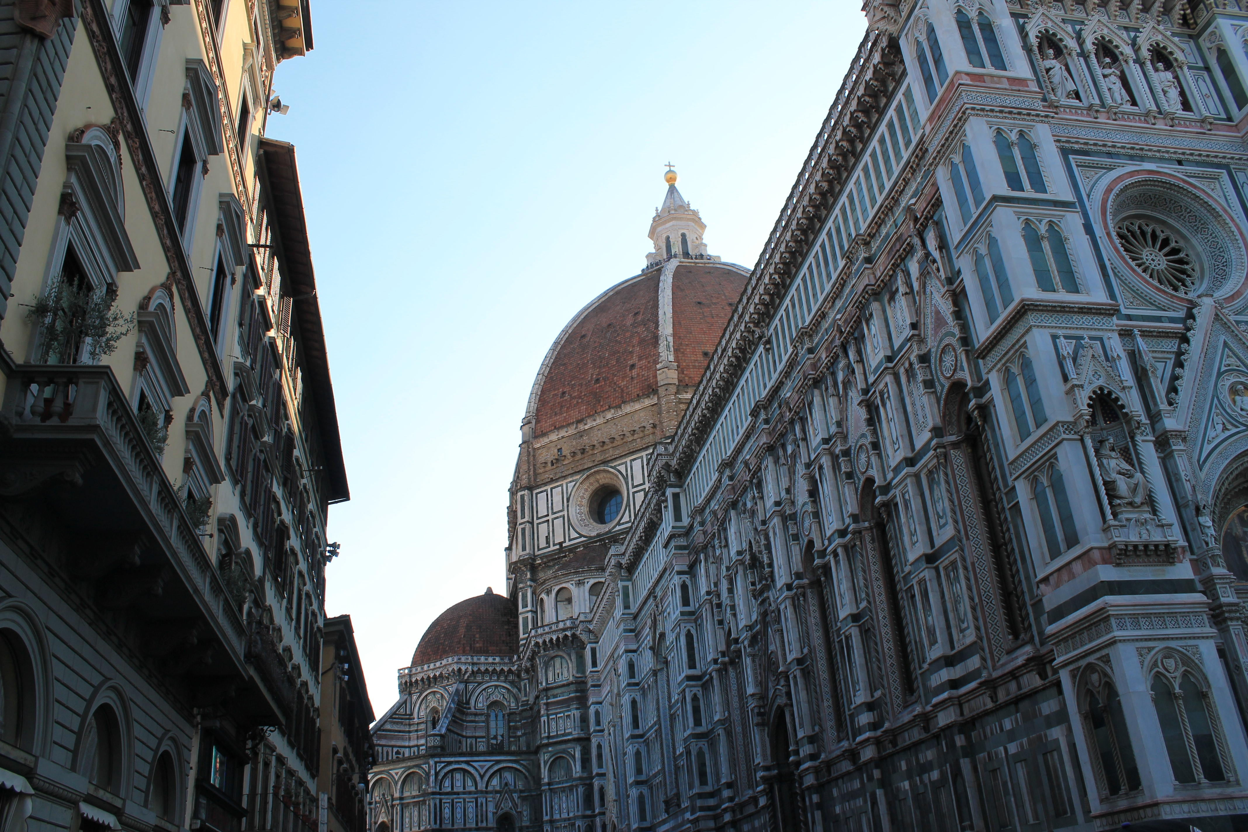 Domes of a Renaissance cathedral in Florence