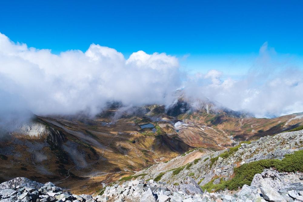 brown rock mountain during daytime