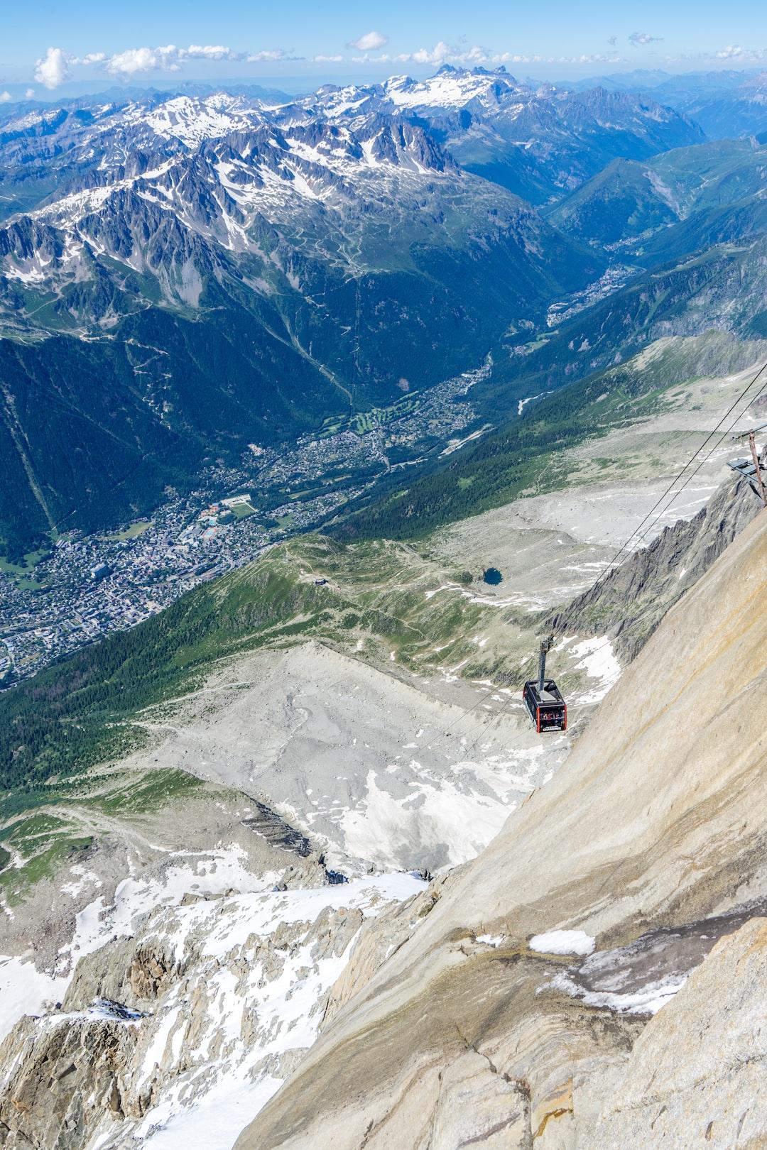 Mont Blanc lift
