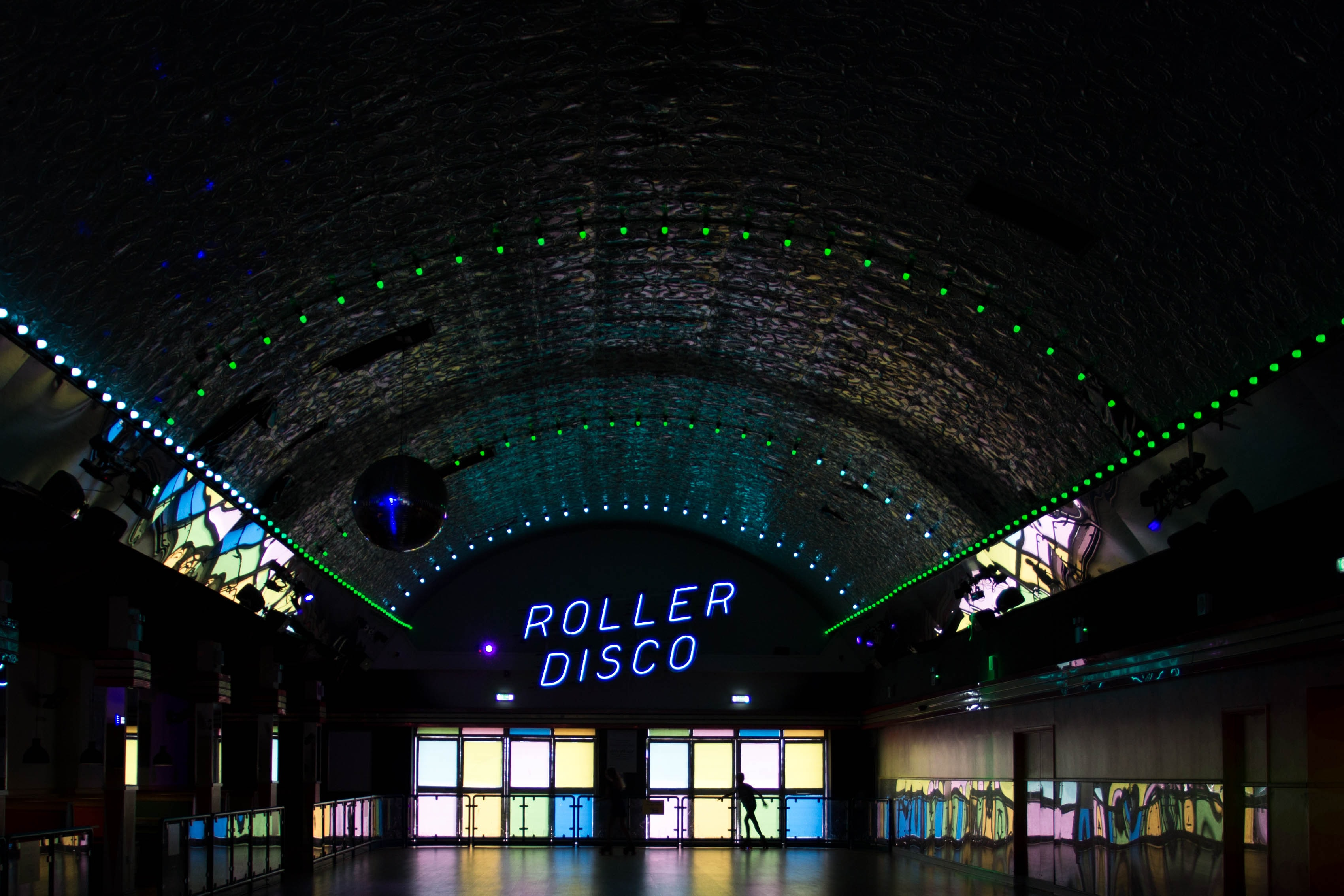 Roller Disco LED sign