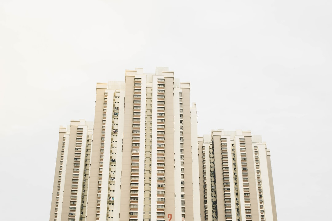 Tower block complex