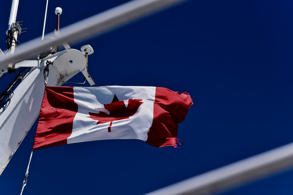 rise Canada flag