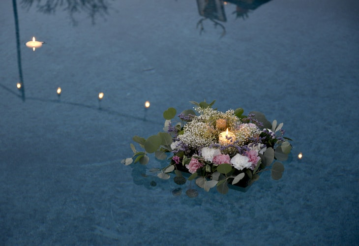 pool decorations, luxury, pool cleaning