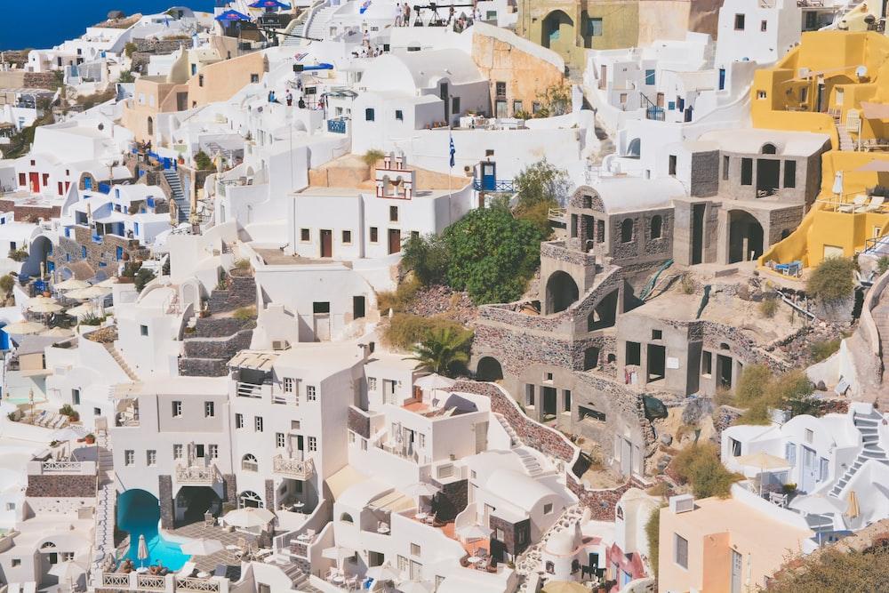 Santorrini, Greece at daytime
