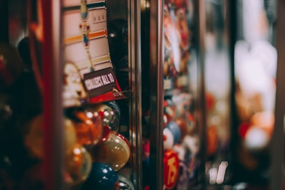 Toy vending machines