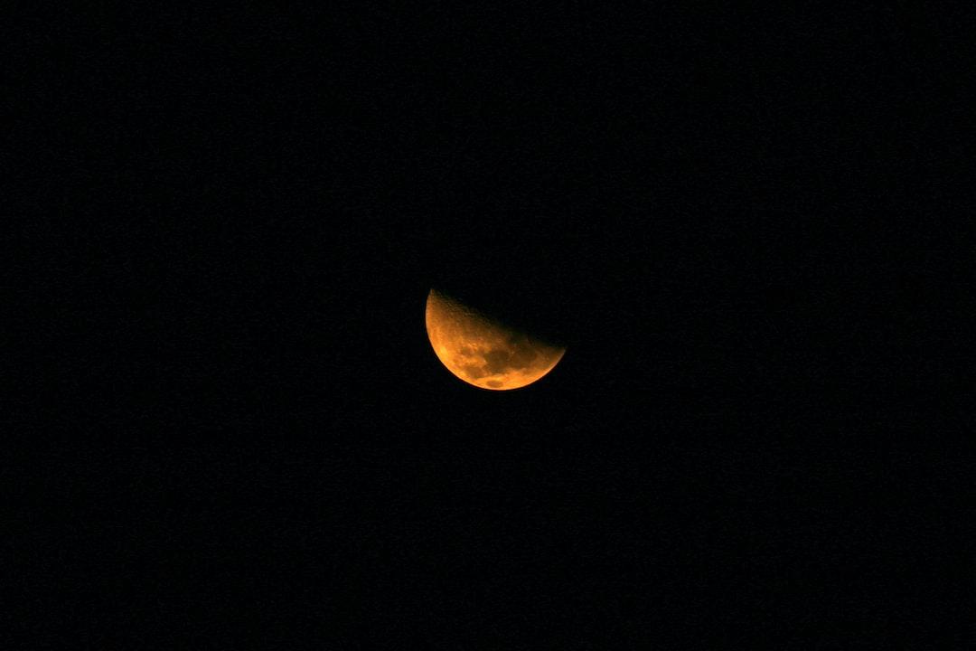 Moon over Vitoria